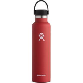 Hydro Flask Standard Mouth Flex Bottle 709ml Lava